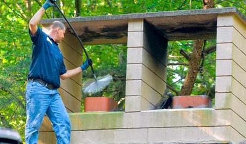 Как прочистить дымоходную трубу
