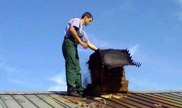 Проверка и чистка дымоходных каналов