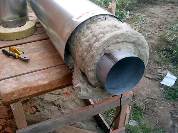 Изоляция трубы