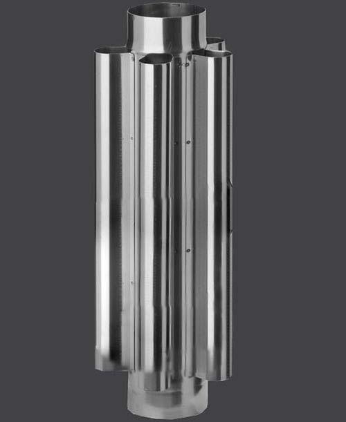 Модель дымохода конвектора