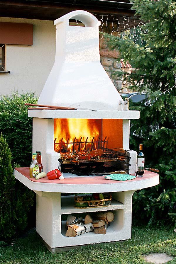 Печь барбекю
