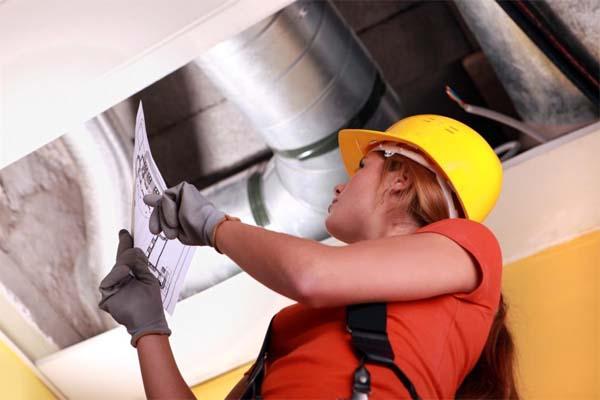 Сверка вентиляционной системы с проектной документацией